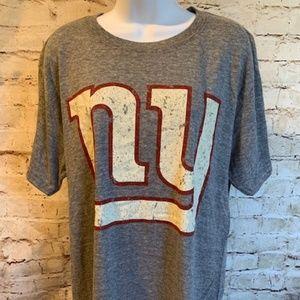 NWOT New York Giants Mens NFL Fan Gear T Shirt M